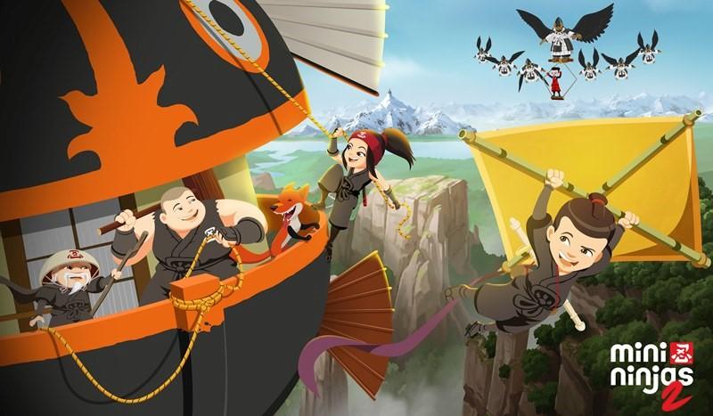 Saison 2 inédite des Mini Ninjas samedi 20 octobre sur TFOU