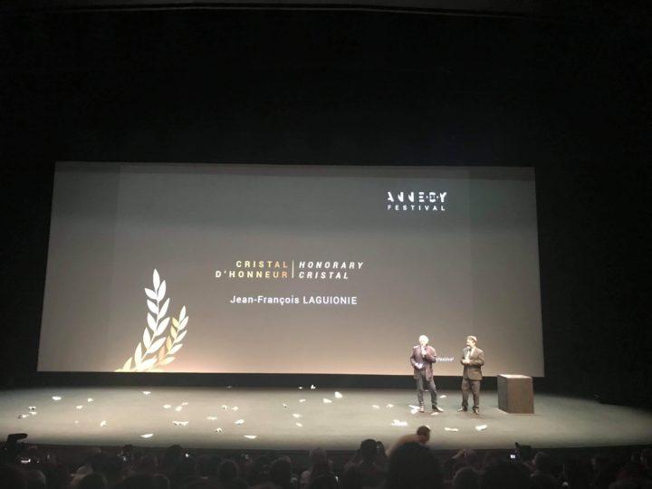 Félicitations à Jean-François Laguionie, Cristal d'Honneur du Festival d'Annecy